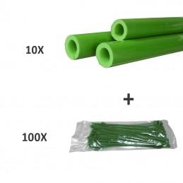 10 X TUBE DE MOUSSE + 100 X...