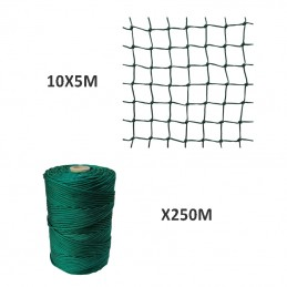 Filet Nylon 5X10M + Fil de...