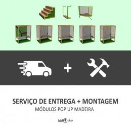 SERVIÇO DE ENTREGA + MONTAGEM